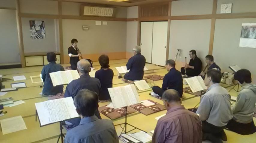 盛岡竹友普門の会 邦楽研究会・発表会を開催