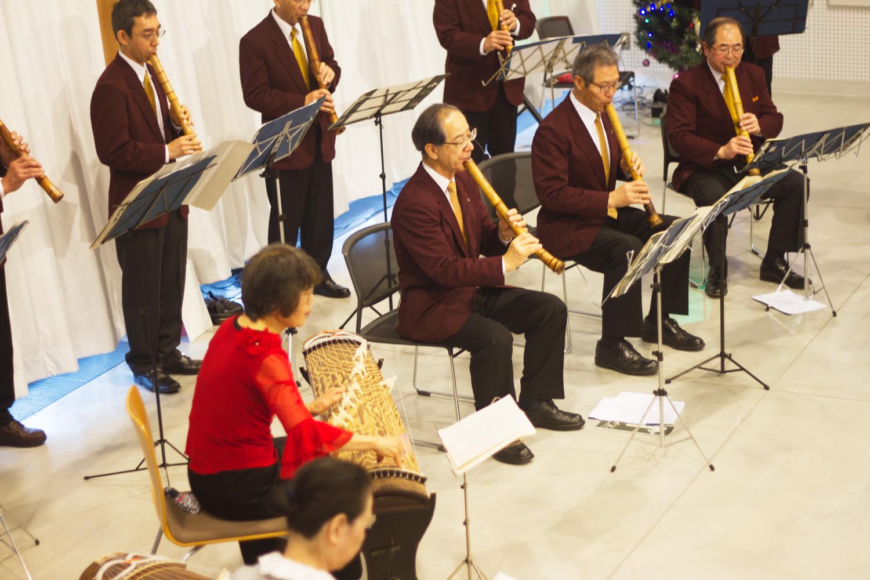 尺八・箏のクリスマスチャリティーコンサート