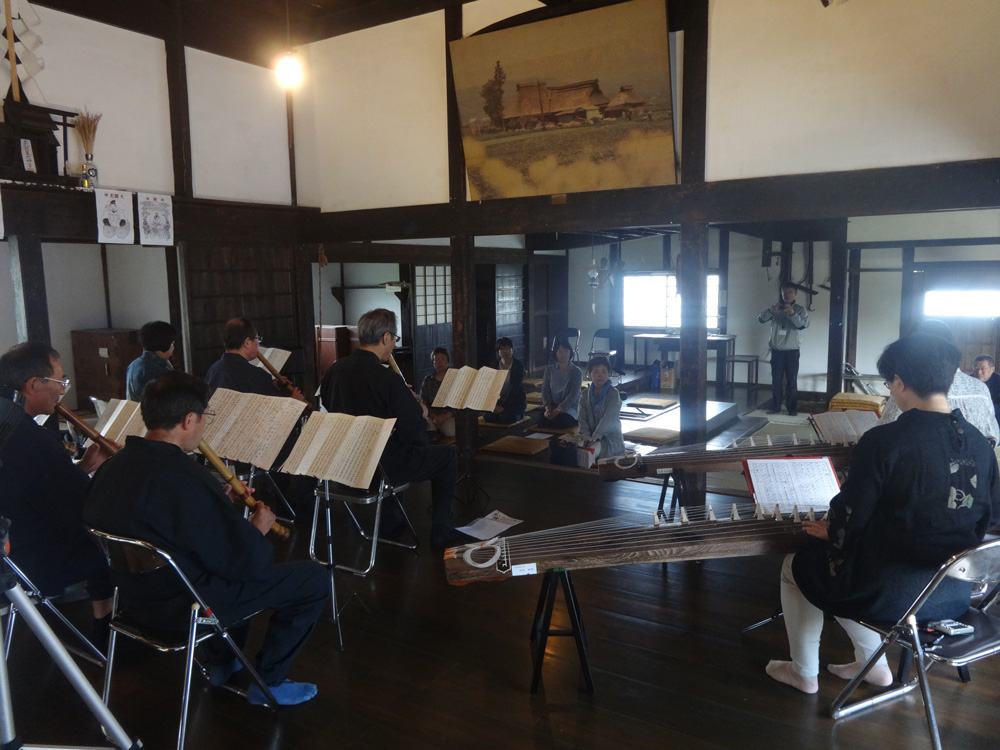 盛岡竹友普門の会、温習会を開催。